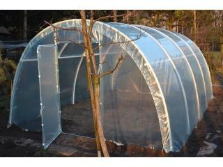 Komplet Folii UV4 na tunel foliowy PCW o rozmiarze 5,00m x 3,00 x 1,90m