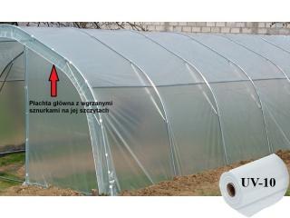 Płachta Główna UV10 na tunel metalowy BUTIMEX - 6,00 x 4,00 x 2,15m