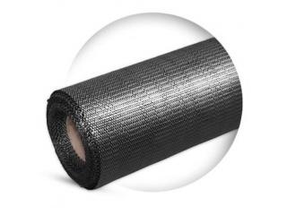 Agrotkanina GRUBA, tkanina ściółkująca czarna szerokości 420 cm - EXTRA