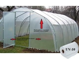Komplet Folii UV10 na tunel metalowy BUTIMEX - 12,00 x 4,00 x 2,15m