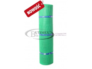 Siatka budowlana (plastikowa) B20 - zielona 1,50 x 50 mb - NOWOŚĆ
