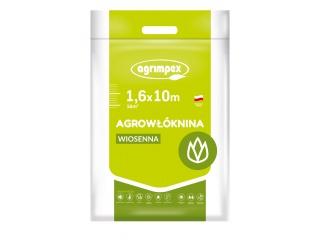 Agrowłóknina 17g Pegas Agro osłaniająca wiosenna 1,60m x 10mb - pakiet