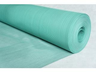 Siatka przeciwwiatrowa (plastikowa) PW 10 - zielona 1,0 x 50 mb