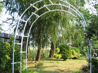 Pergola ogrodowa PCW - potrójna