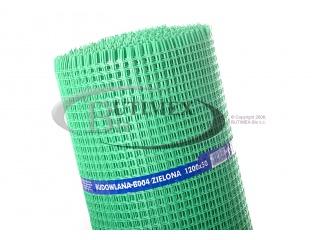 Siatki na krety (przeciw kretom) 1,20 x 50 mb typ B004 - zielona