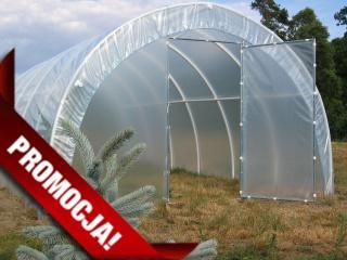 Tunel foliowy z PCW dla działkowców długości 6 m - wysyłka pobraniowa