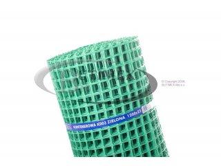 Siatka kontenerowa (plastikowa) K003 (K3) - zielona 1,20 x 25 mb