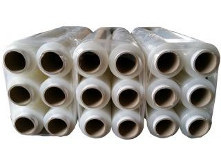 Folia stretch ręczna - bezbarwna - szerokość 500mm - grubość 23mic - 18 rolek