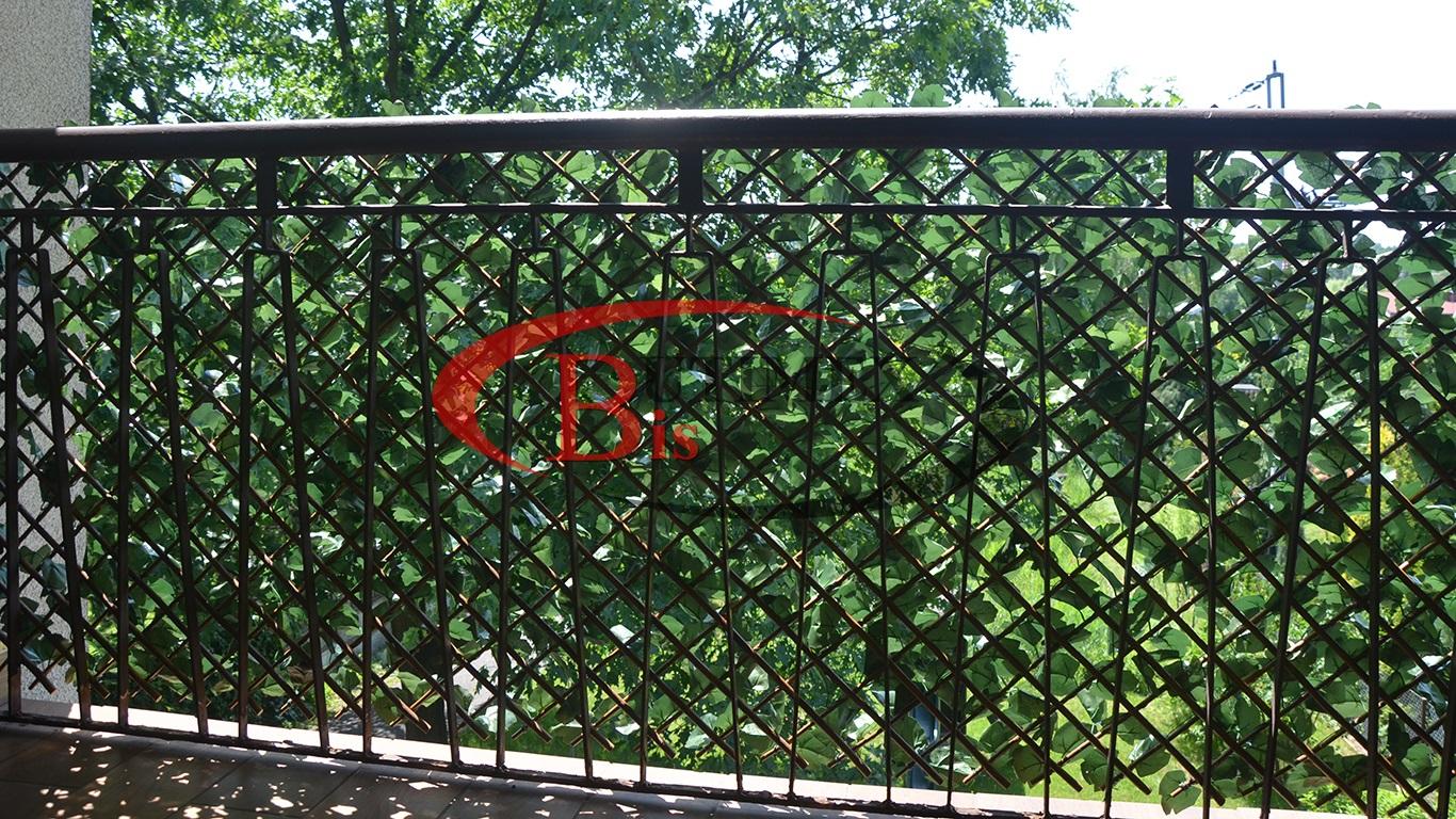 sztuczny żywopłot - płotek regulowany - balkon - taras