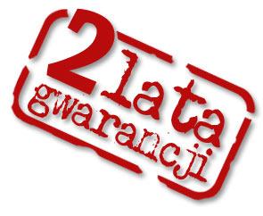 Gwarancja 2 lata - 24 miesiące