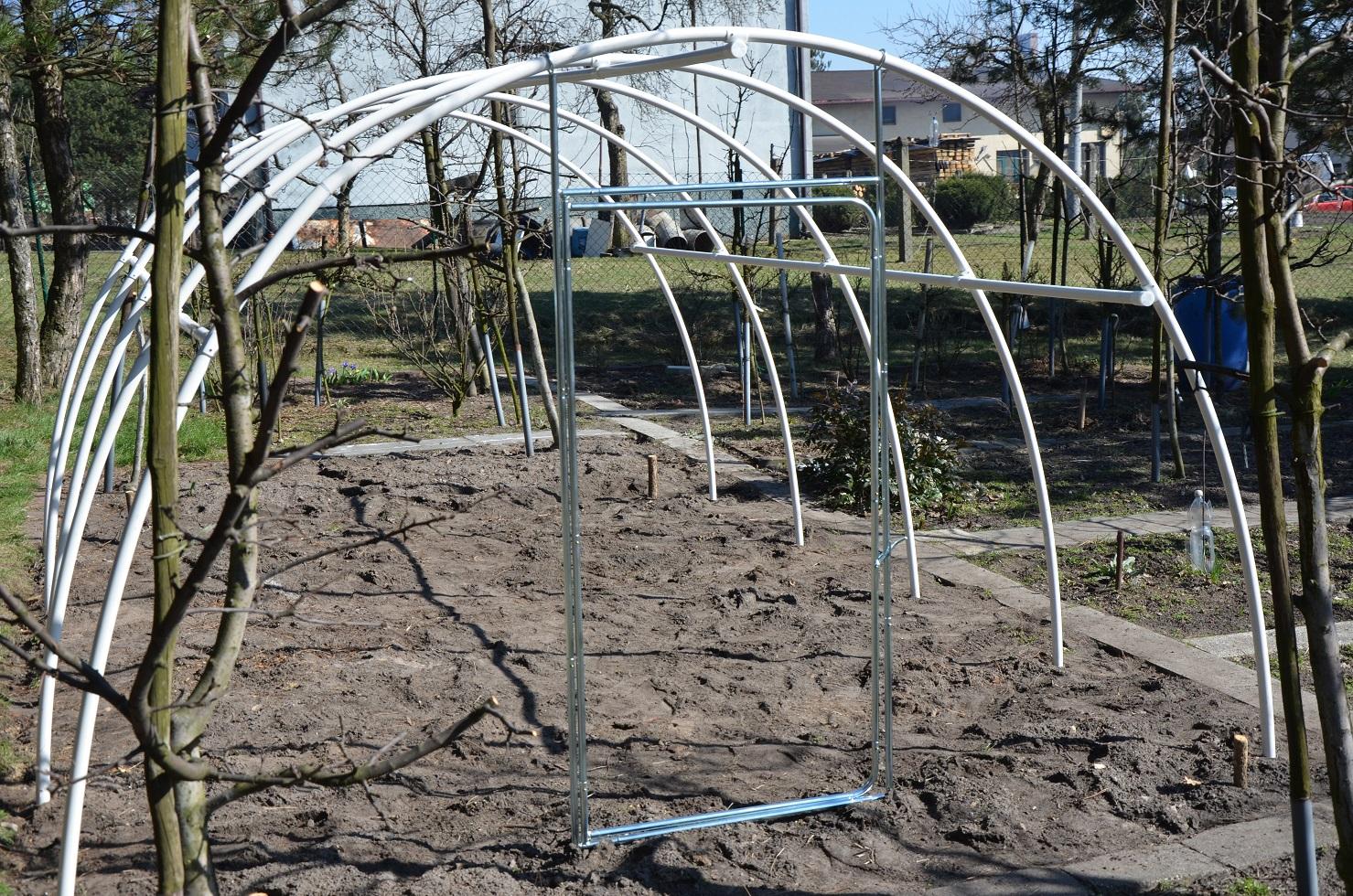 zgrzewanie folii ogrodniczych tunelowych 2 konstrukcja