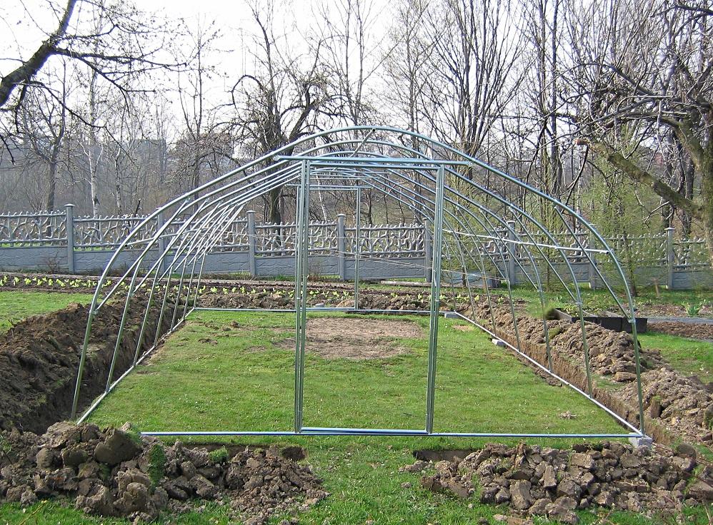 zgrzewanie folii ogrodniczych tunelowych 5 konstrukcja